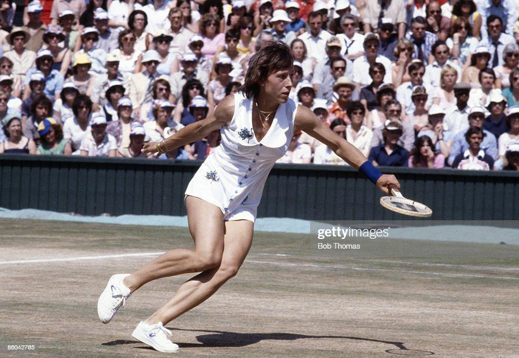 Martina Navratilova 1979 : News Photo