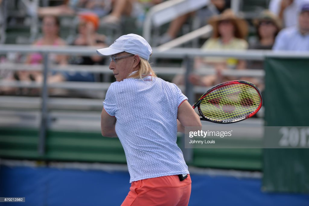 2017 Chris Evert/Raymond James Pro-Celebrity Tennis Classic - Pro-Celebrity Tennis : News Photo