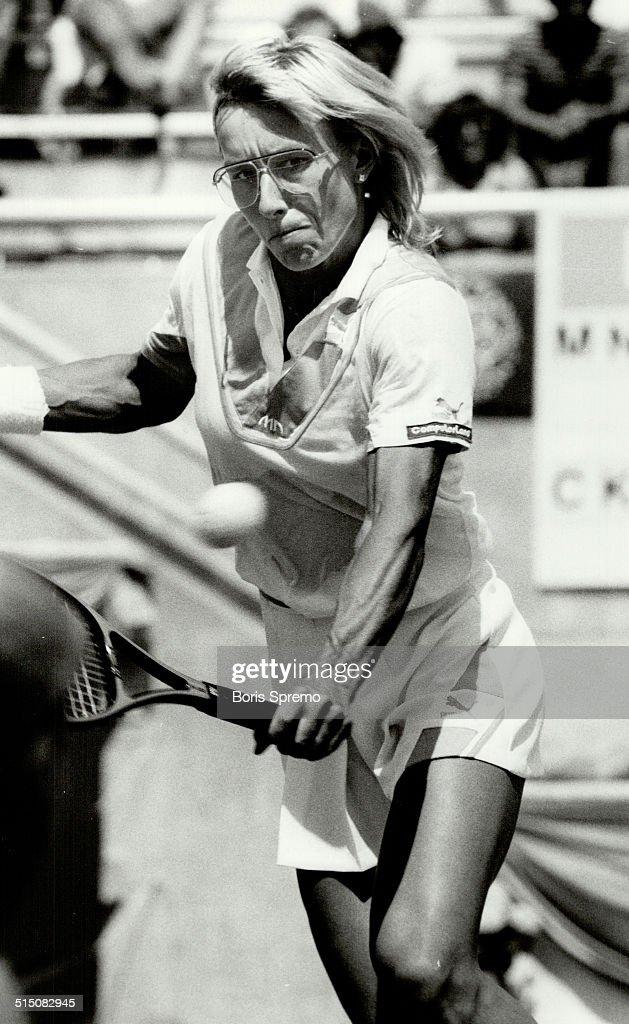 Martina Navratilova... : Nyhetsfoto
