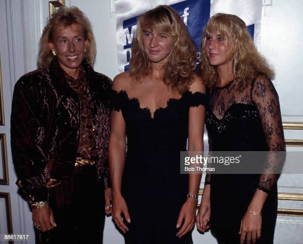 Gallo Images - Gallo Images - 88617617 - martina navratilova steffi graf monica seles