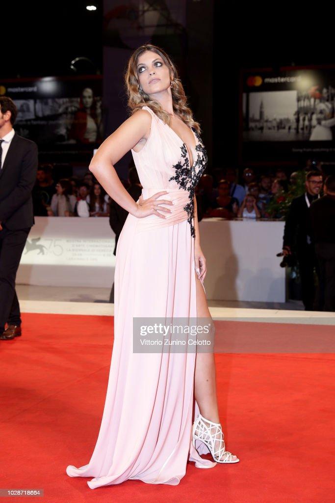 "ITA: ""Una Storia Senza Nome"" Red Carpet Arrivals - 75th Venice Film Festival"
