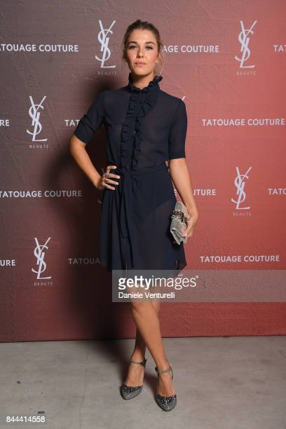 Martina Pinto attends the YSL Beauty Club Party during the 74th Venice Film Festival at Arsenale on September 8 2017 in Venice Italy