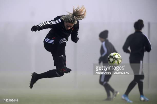 Martina Rosucci during a Juventus Women Training Session at Juventus Center Vinovo on January 7 2020 in Vinovo Italy