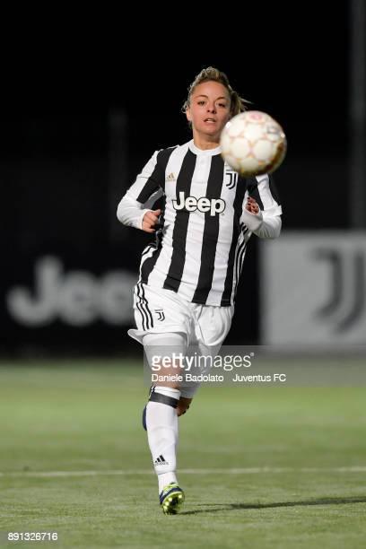 Martina Rosucci during the Juventus Women v Fiorentina match at Juventus Center Vinovo on December 8, 2017 in Vinovo, Italy.