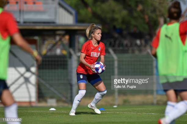 Martina Rosucci of Italy Women in action during a training session at Training Center MHSC Bernard Gasset Grammont on June 23 2019 in Montpellier...