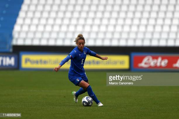 Martina Rosucci of Italy Women in action during the International Friendly match between Italy Women and Switzerland Women