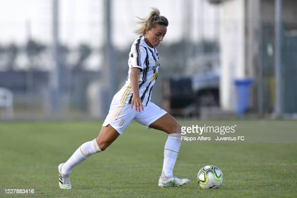 Martina Rosucci of Juventus during the Pre-Season Friendly match between Juventus Women and Florentia on August 02, 2020 in Parma, Italy.