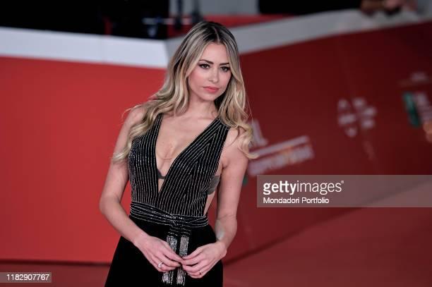 Martina Stella at Rome Film Fest 2019 Rome October 22nd 2019