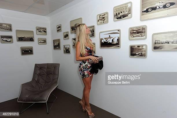 Martina Stella attends the Maserati Centennial Tour on July 17 2014 in Milano Marittima near Cervia Italy