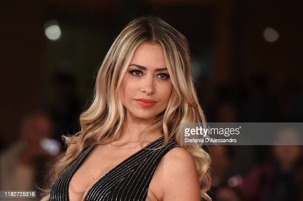 Martina Stella attends the red carpet of the movie Judy during the 14th Rome Film Festival on October 22 2019 in Rome Italy
