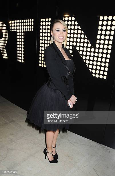 Martina Stella attends the Rome Premiere Party of 'NINE' cohosted by Martini at the Martini Terrazza on January 13 2010 in Rome Italy