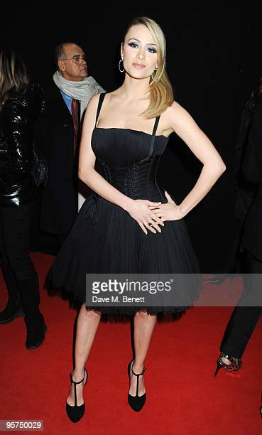 Martina Stella attends the Rome screening of 'NINE' cohosted by Martini at the Auditorium Conciliazione on January 13 2010 in Rome Italy