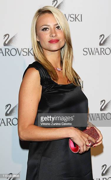 Martina Stella attends the Swarovski Fashionation at Palazzo Reale on June 7 2011 in Milan Italy
