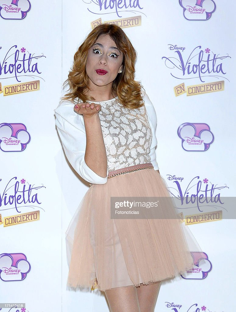 'Violetta' Madrid Photocall