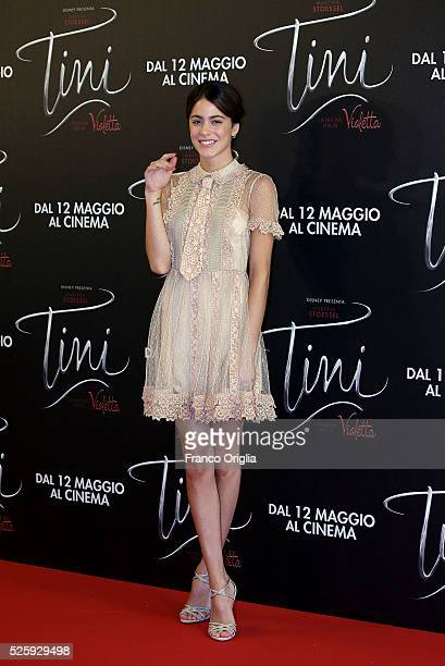 Martina Stoessel attends 'Tini The New Life Of Violetta' Photocall In Rome at Hotel Parco dei Principi on April 29 2016 in Rome Italy