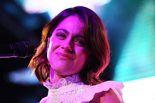 Meet and greet with tini in rome photos and images getty images martina stoessel performs during the meet and greet with tini at qube on april m4hsunfo