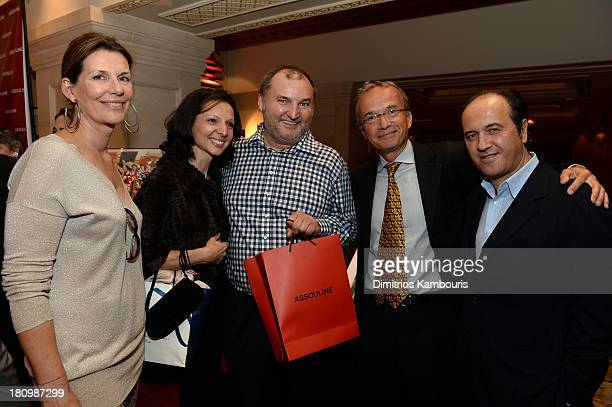 Martine Assouline Cecile Argoud Managing Director at Longchamp Olivier Cassegrain Global Vice Chair of Dentons Francois M Chateau and Prosper...