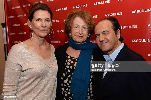 Martine Assouline MarieMonique Steckel President French Institue Alliance Française and Prosper Assouline attend ASSOULINE Martine and Prosper...