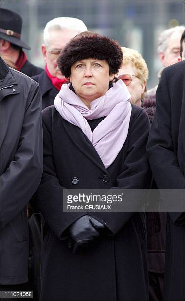 Martine Aubry mayor of Lille in Lille France on January 08th 2006