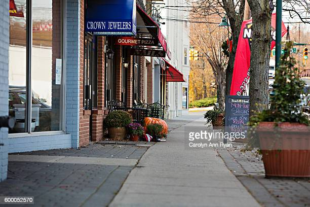 martine avenue fanwood nj - small town stock pictures, royalty-free photos & images