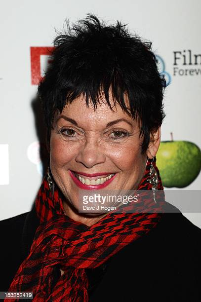 Martine Beswick attends a gala screening of Magical Mystery Tour at The BFI Southbank on October 2 2012 in London England