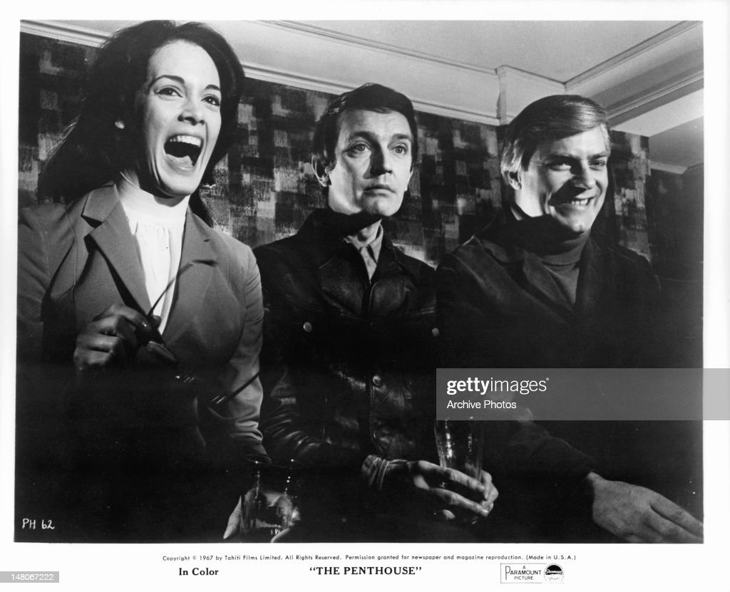 Tony Beckley And Norman Rodway In 'The Penthouse' : News Photo