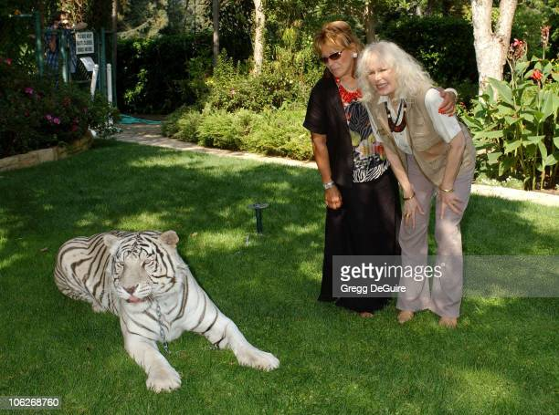 Martine Colette Wildlife WayStation's Founder and Director and Loretta Swit