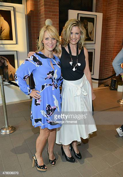 Martine Gaillard and Liza Fromer attend the Max Mara presents The Power Plant's Power Ball XVII Appetite For Excess at Power Plant Gallery on June 4...