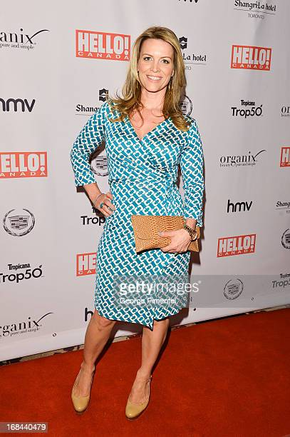 Martine Gaillard arrives at the Hello Canada gala celebrating Canada's 50 most beautiful at ShangriLa Hotel on May 9 2013 in Toronto Canada