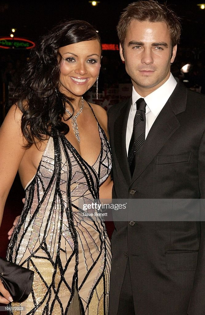 Martine Mccutcheon And James Tanner, Love Actually Movie Premiere At The Odeon Leicester Square, London