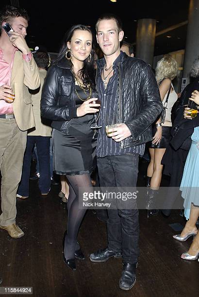 Martine McCutcheon and Sean Brosnan during Drivin' Me Crazy – Gumball Film Premiere Inside Arrivals at The Savoy Place in London Great Britain