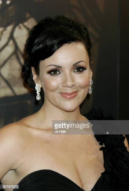Martine McCutcheon arrives at The Specsavers Crime Thriller Awards at the Grosvenor Hotel on October 21 2009 in London England
