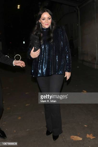 Martine McCutcheon attending Phil Turners 50th Birthday at Proud Embankment on November 14, 2018 in London, England.
