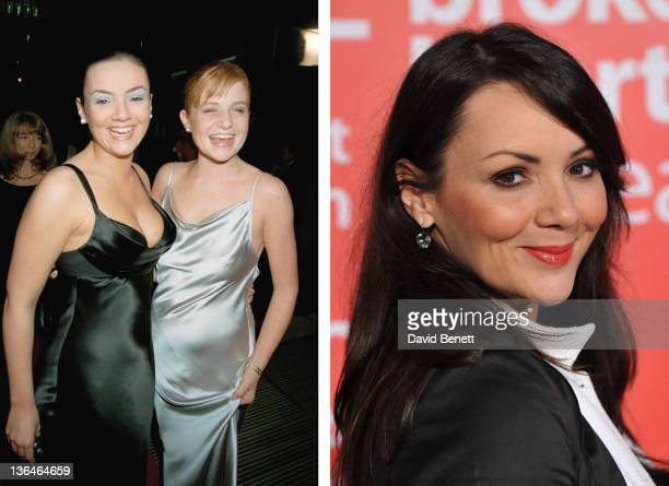In this composite image a comparison has been made of actress Martine McCutcheon Many of today's leading Hollywood stars began their careers in...