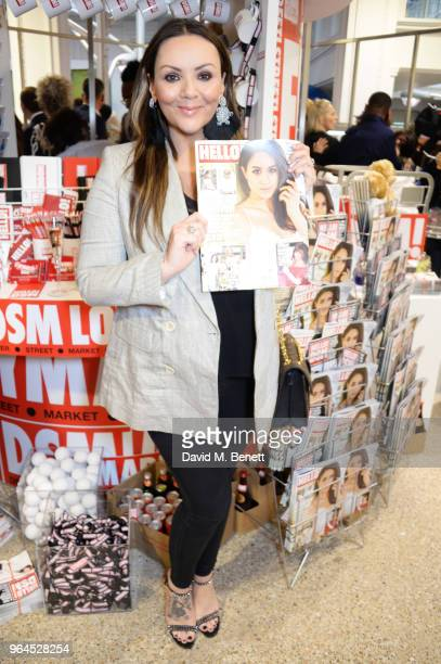 Martine McCutcheon attends Hello Magazine's 30th anniversary party at Dover Street Market on May 9, 2018 in London, England.
