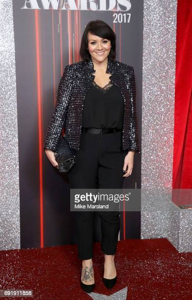 Martine McCutcheon attends The British Soap Awards at The Lowry Theatre on June 3 2017 in Manchester England The Soap Awards will be aired on June 6...