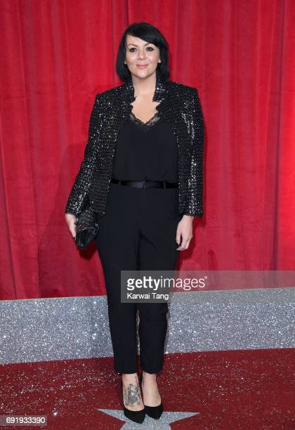 Martine McCutcheon attends the British Soap Awards at The Lowry Theatre on June 3 2017 in Manchester England