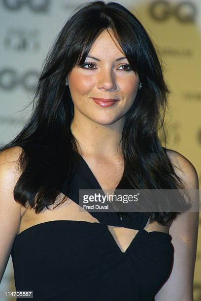 Martine McCutcheon during 2002 GQ Men of the Year Awards London at Natural History Museum in London Great Britain
