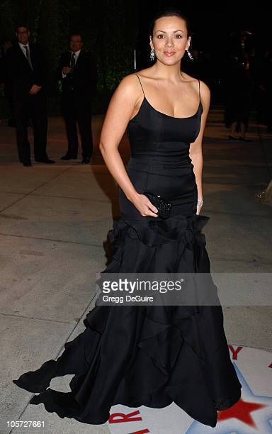 Martine McCutcheon during 2005 Vanity Fair Oscar Party Arrivals at Mortons in Los Angeles California United States