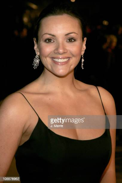 Martine McCutcheon during 2005 Vanity Fair Oscar Party at Mortons in Los Angeles California United States