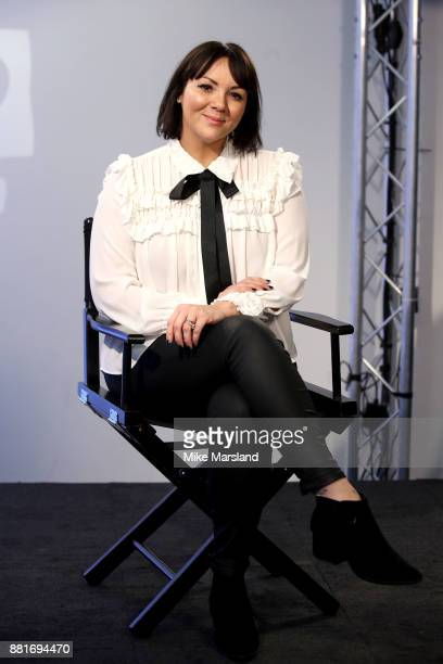 Martine McCutcheon during a Build panel discussion on November 29 2017 in London England