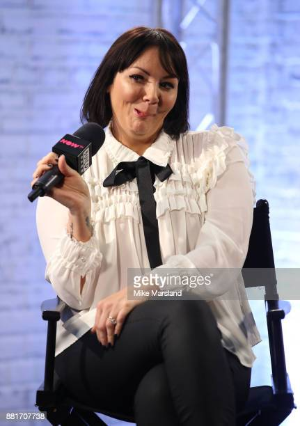 Martine McCutcheon during a Build panel discussion on November 29, 2017 in London, England.