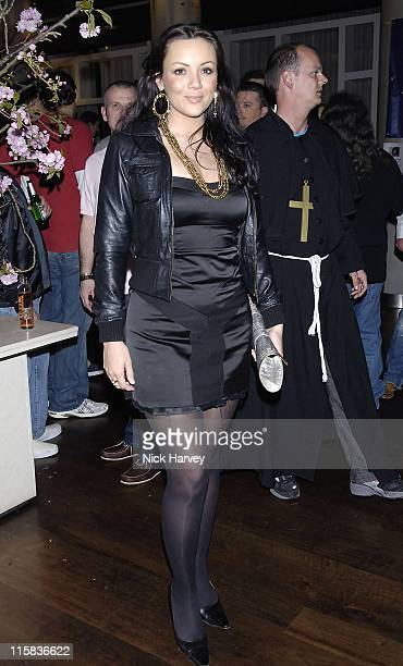 Martine McCutcheon during Drivin' Me Crazy – Gumball Film Premiere Inside Arrivals at The Savoy Place in London Great Britain
