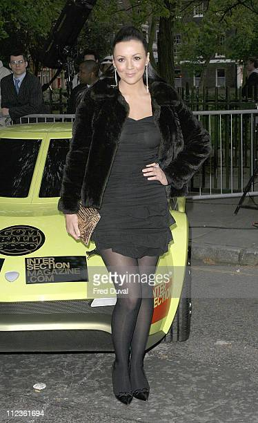 Martine McCutcheon during Gumball 3000 6 Days In May DVD Premiere and 2005 Rally Launch Party at Victoria House in London Great Britain