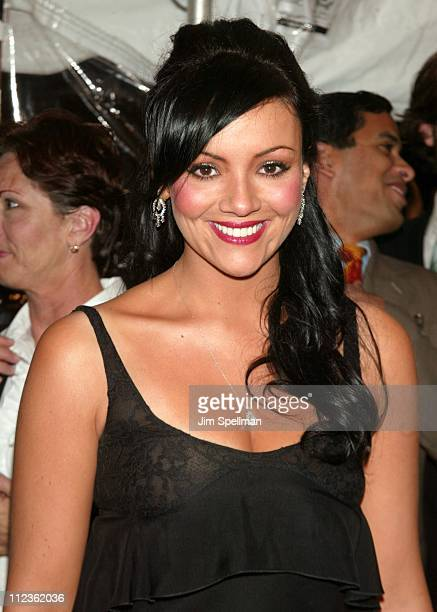 Martine McCutcheon during Love Actually New York Premiere at Ziegfeld Theatre in New York City New York United States