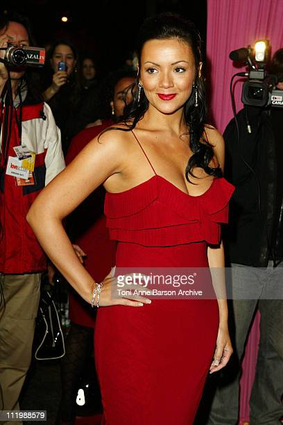 Martine McCutcheon during Love Actually Premiere Paris at UGC Normandy Champs Elysees in Paris France