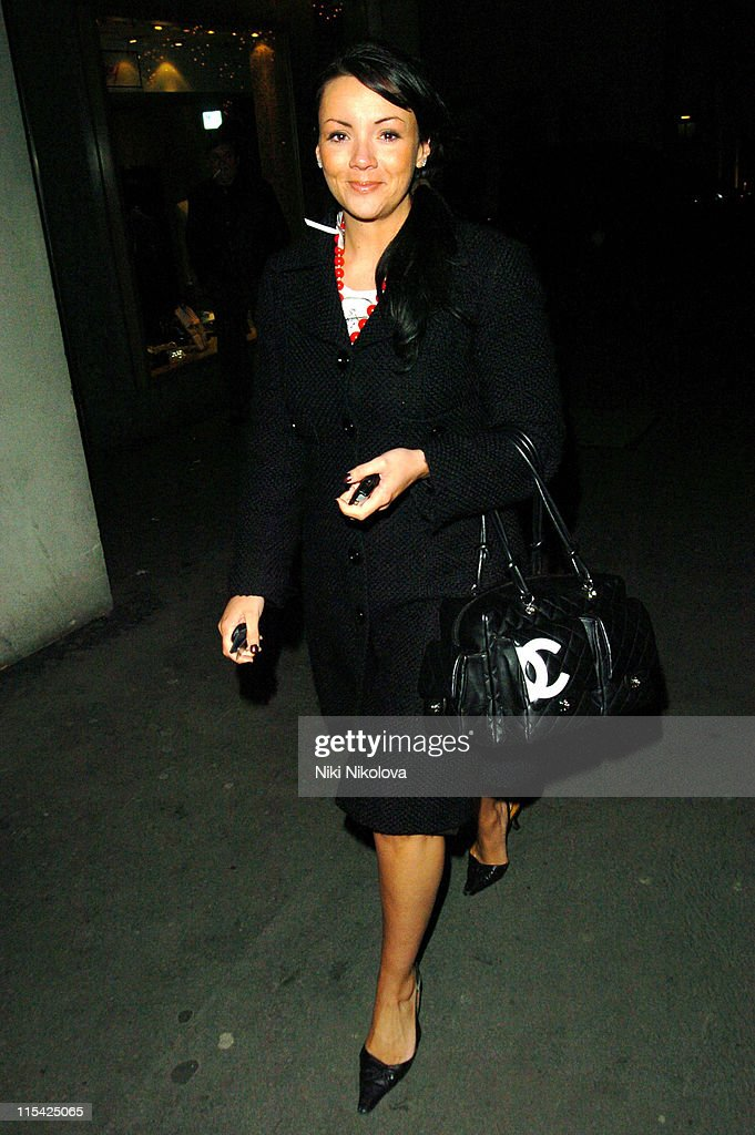 Martine McCutcheon Sighting at the London Hilton - March 5, 2006