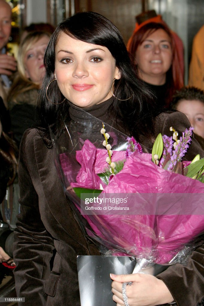 Martine McCutcheon Switches On The Christmas Lights