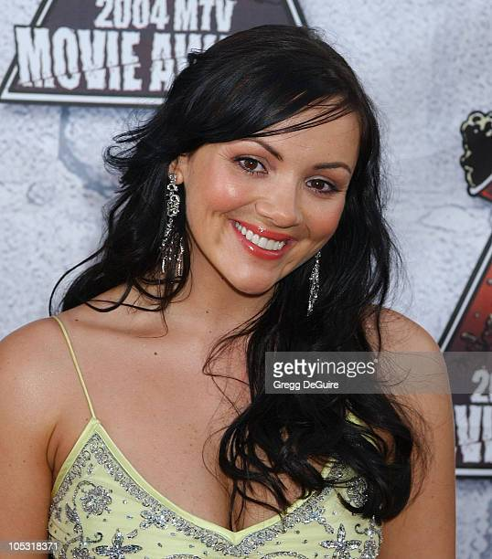 Martine McCutcheon during MTV Movie Awards 2004 Arrivals at Sony Pictures Studios in Culver City California United States