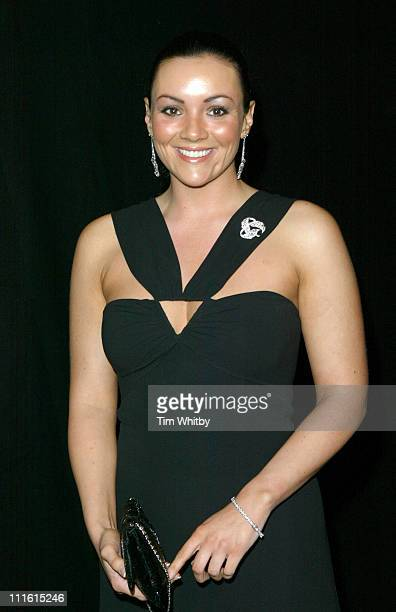 Martine McCutcheon during The British Independent Film Awards Arrivals at Hammersmith Palais in London Great Britain